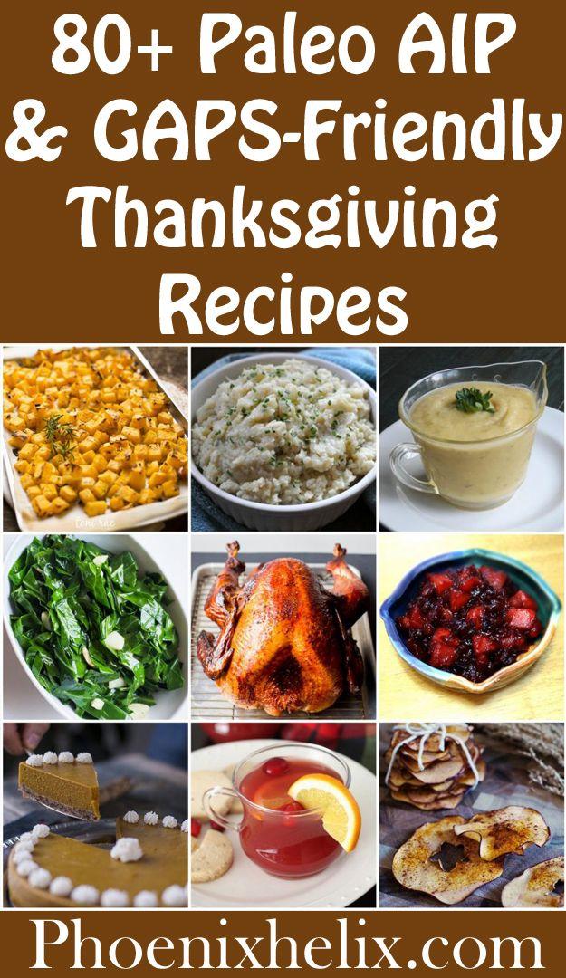 paleo diet thanksgiving recipes