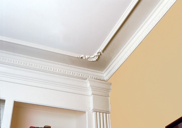 Ceiling molding and corner trim onekingslane Crown molding india