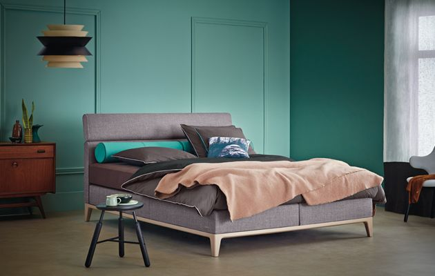 boxspring bed criade by auping boxspringbetten. Black Bedroom Furniture Sets. Home Design Ideas