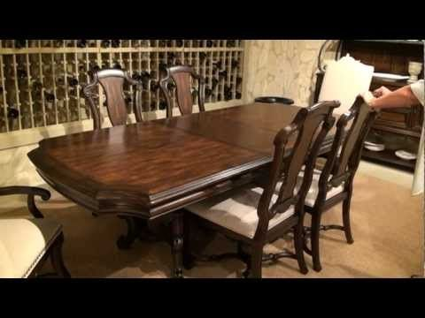 Coronado Rectangular Double Pedestal Dining Table By ART Furniture