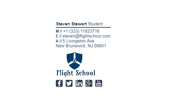 11 best Student Email Signature Examples images on Pinterest | Email ...