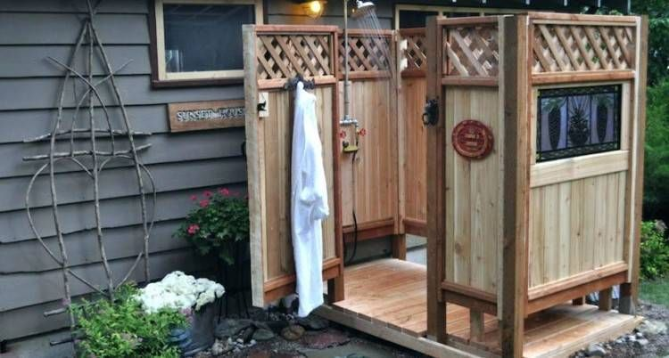 Easy Outdoor Showers With Images