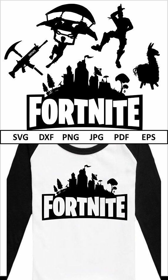 fortnite svg fortnite cut files clipart vector logo print cricut silhouette cameo freebies cricut silhouette cameo projects - fortnite logo vector png