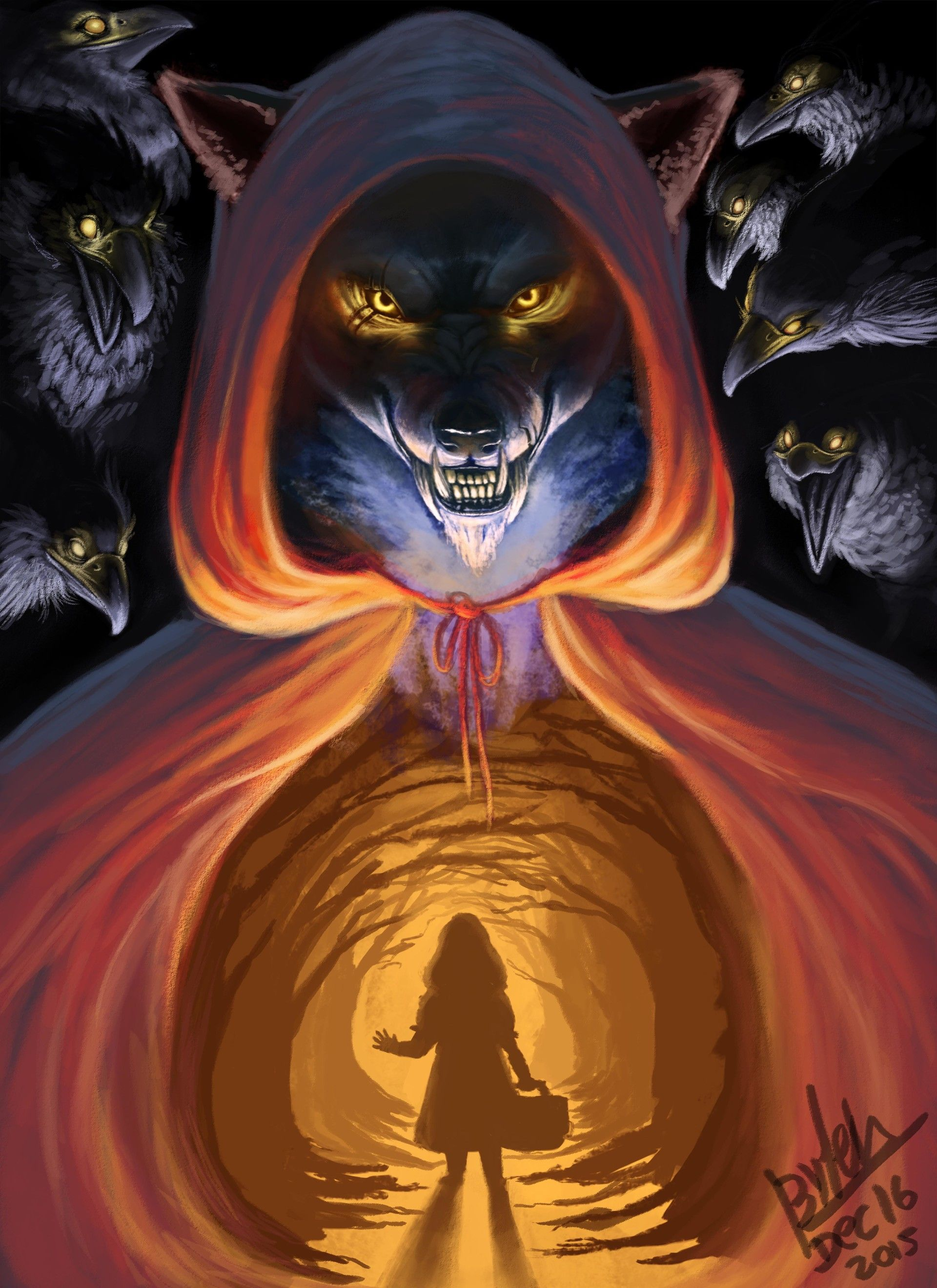 ArtStation Evil Wolf, Ester Conceiçao (Có hình ảnh)