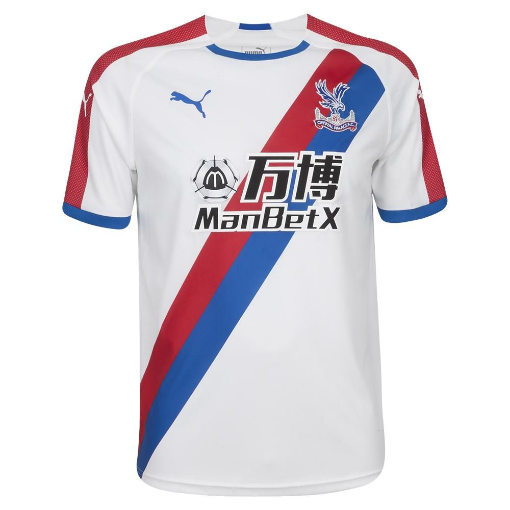 CRYSTAL PALACE NEW PUMA Away 2018 -19 FÚTBOL SOCCER CLUB KIT CALCIO SHIRT  FOOTBALL JERSEY FUSSBALL CAMISA TRIKOT MAILLOT MAGLIA BNWT 6fcdf4142