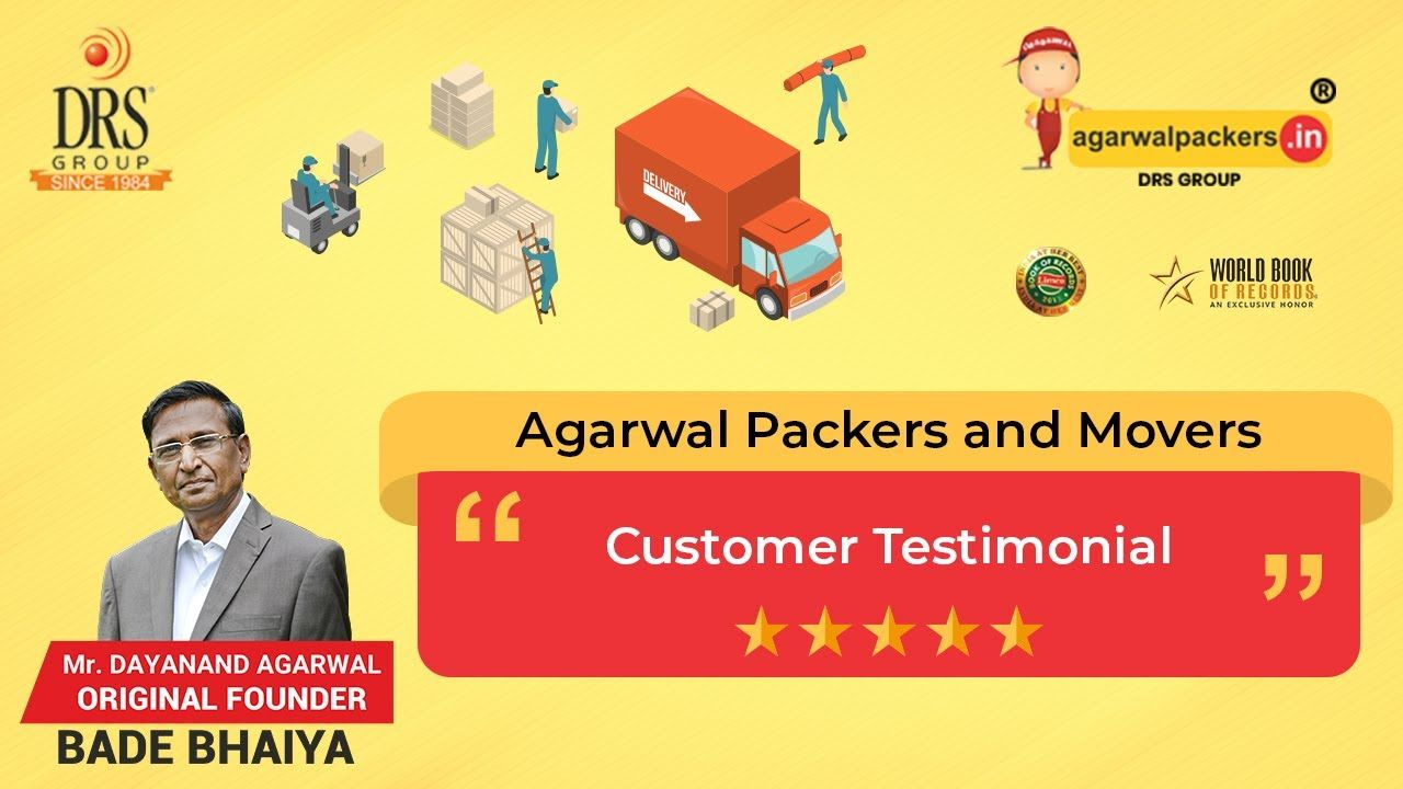 Pune To Bangalore Customer Testimonial R K Dube Agarwal Packers And Movers In 2020 Packers And Movers Customer Testimonials Movers