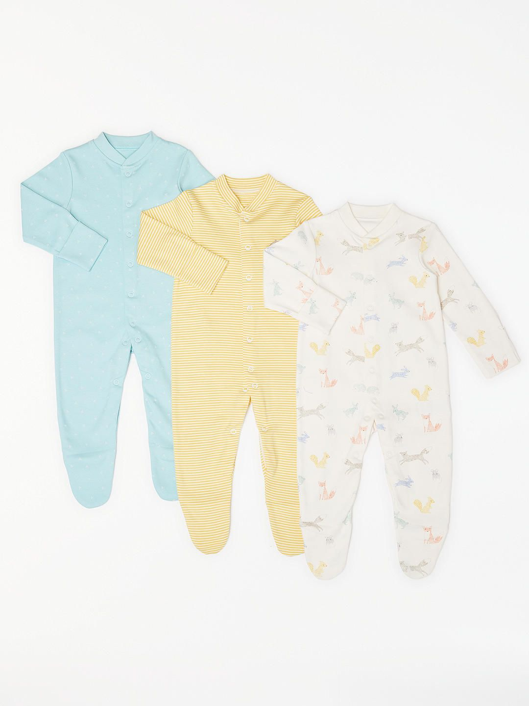 1efb2e3c59aa John Lewis   Partners Baby Forest Friends GOTS Organic Cotton ...