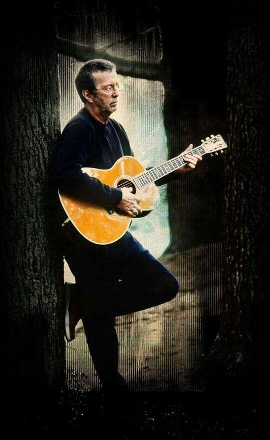 The amazing Eric Clapton . . .