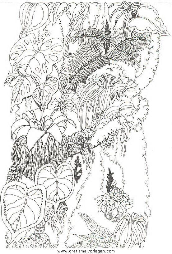 natur/blumen/blumen_336 | coloring 4 | pinterest