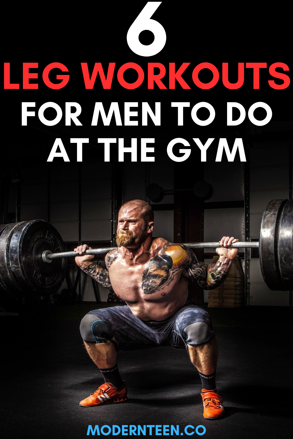 6 Leg Workouts – Best Exercises for Beginners at the Gym ...