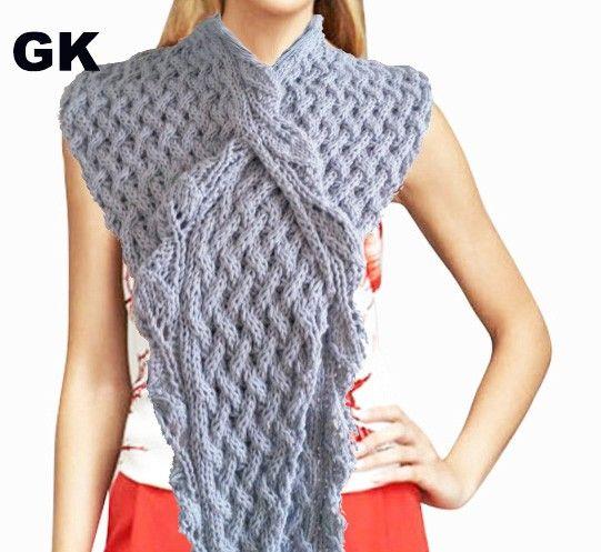 Eco cotton scarf/poncho