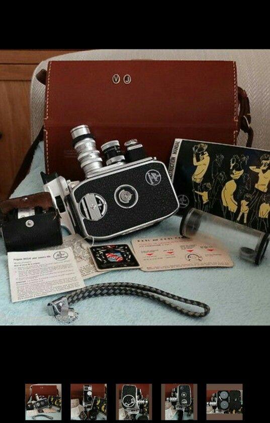 Bolex Paillard Cine 8mm clockwork camera