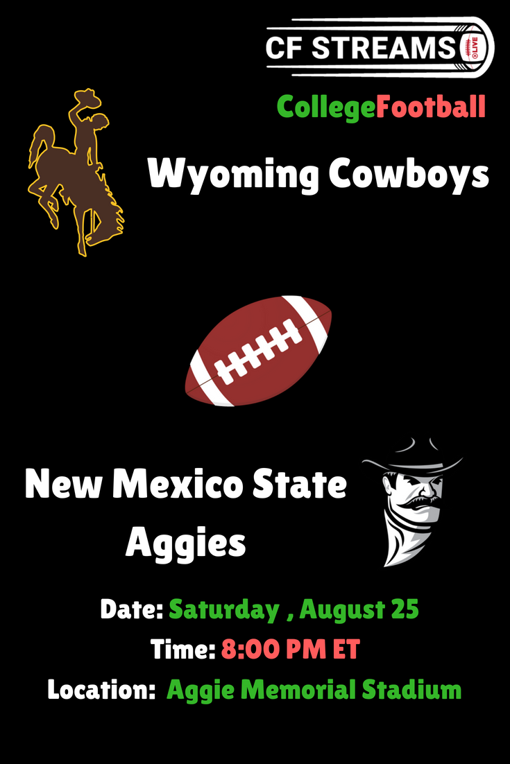 Wyoming Cowboys vs New Mexico State Aggies College