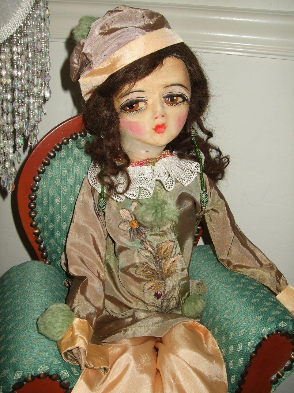 Vintage Etta Boudoir doll