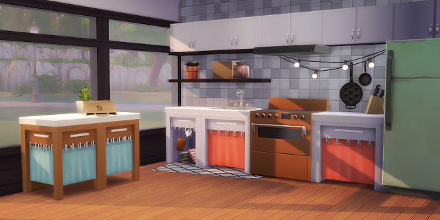 building kitchen islands small table set sims 4 cc's - the best: hand-me-down counters by ...