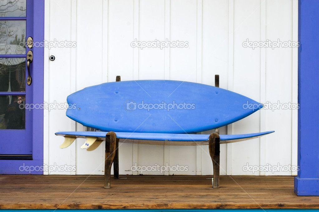 Surfboard Bench — Foto Stock #2293357