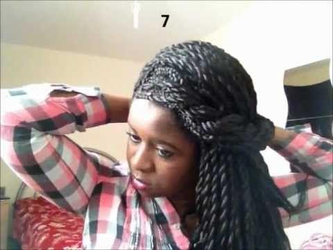 Pleasant 1000 Images About Senegalese Twist Hairstyles On Pinterest Short Hairstyles Gunalazisus