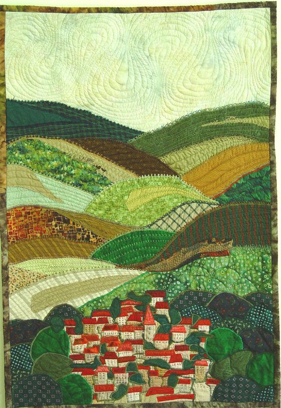 Resultado de imagen de landscapes patchwork | Irish Quilt Ideas ... : art quilts pinterest - Adamdwight.com