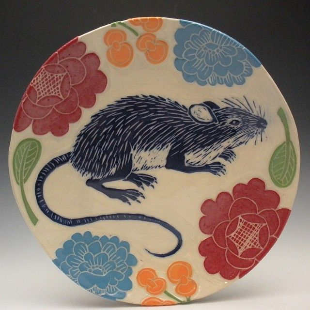 The Mouse Plate!  #mouse #rat #plate #rodent #sgraffito #handmade   Best Picture For  Rodents teeth  For Your Taste  You are looking for something, and it is going to tell you exactly what you are looking for, and you didn't find that picture. Here you will find the most beautiful picture that will fascinate you when called  Rodents aesthetic . When you look at our dashboard, you can see that the number of pictures in our account with  Rodents character design  is 957. By examin... #Rodents