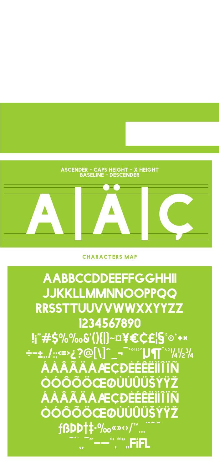 Facile Sans  Capital Letter Font  Free Sans Serif Font  Free