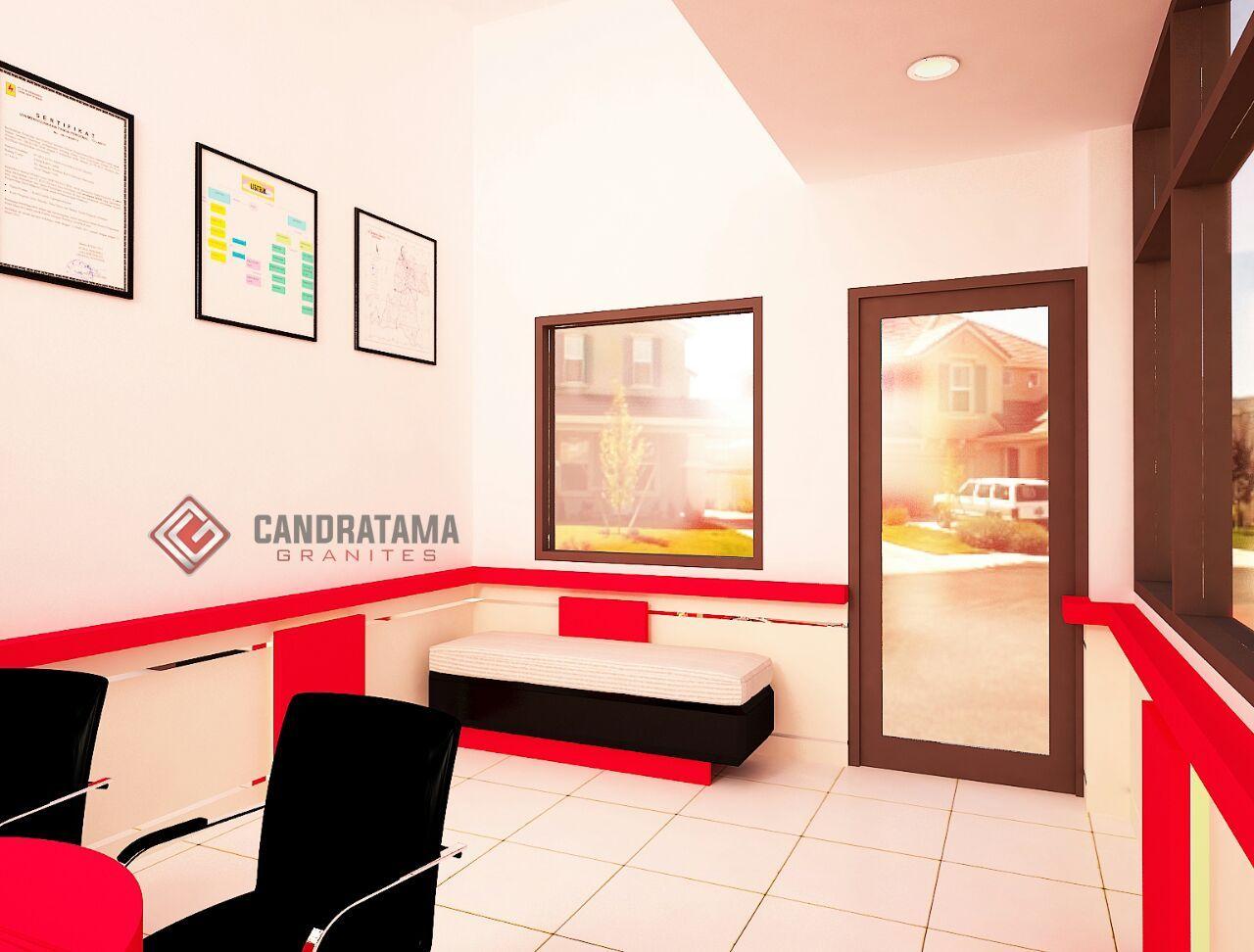 Interior kantor minimalis tropis 3 lantai - Jasa Interior Kediri Desain Interior Kantor Kediri