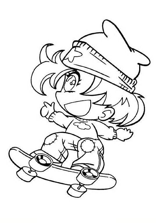manga 11 ausmalbilder für kinder malvorlagen zum