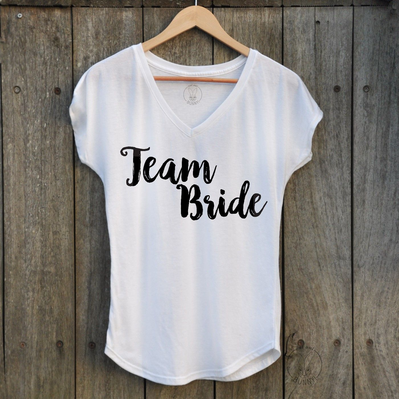 c35002512ce T-Shirt Team Bride - T-shirts - EVJF - Oui Oui Bunny   Mariage