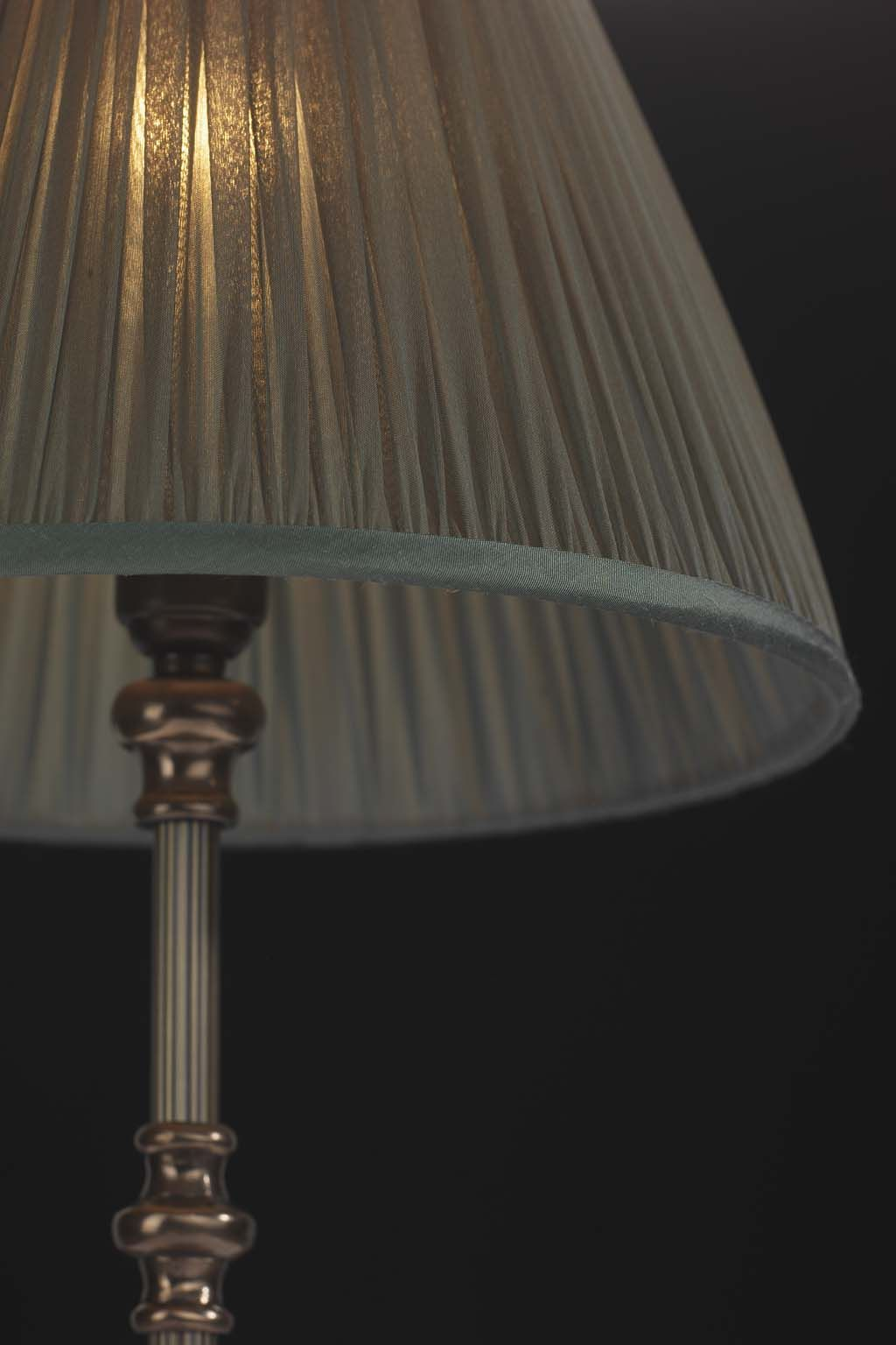 twisted champagne lamp partymilk red uk shades silk pleat step shade gold pleated club