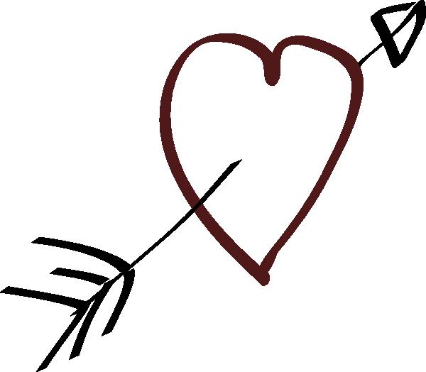 Heart Doodle Cerca Con Google Heart With Arrow Heart Clip Art Clip Art