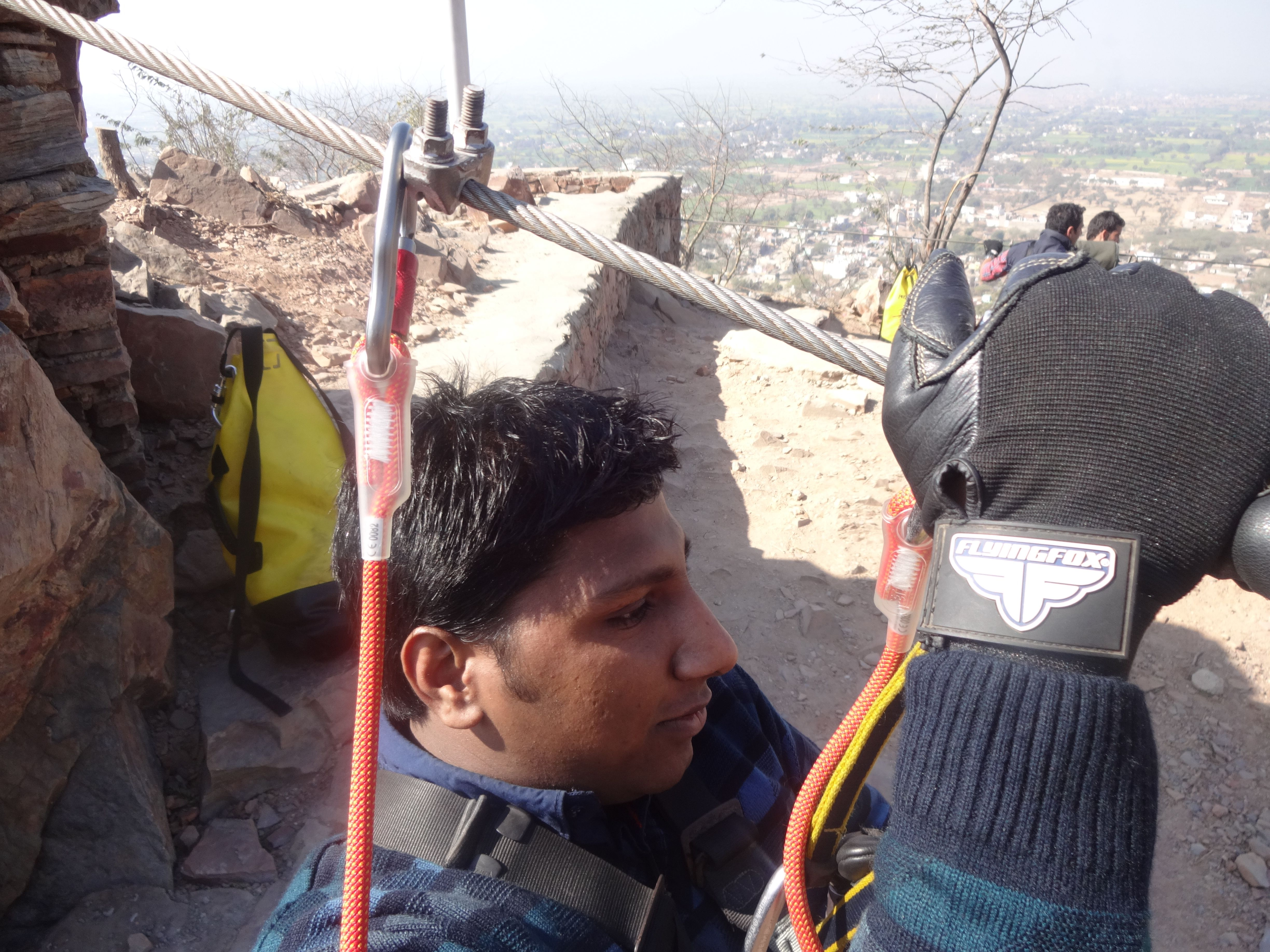First Official Trip To Flying Fox Neemrana Newemployee Firstvisit Officialvisit Flyingfoxneemrana Http Buff Ly 24s Adventure Tours New Employee Ziplining