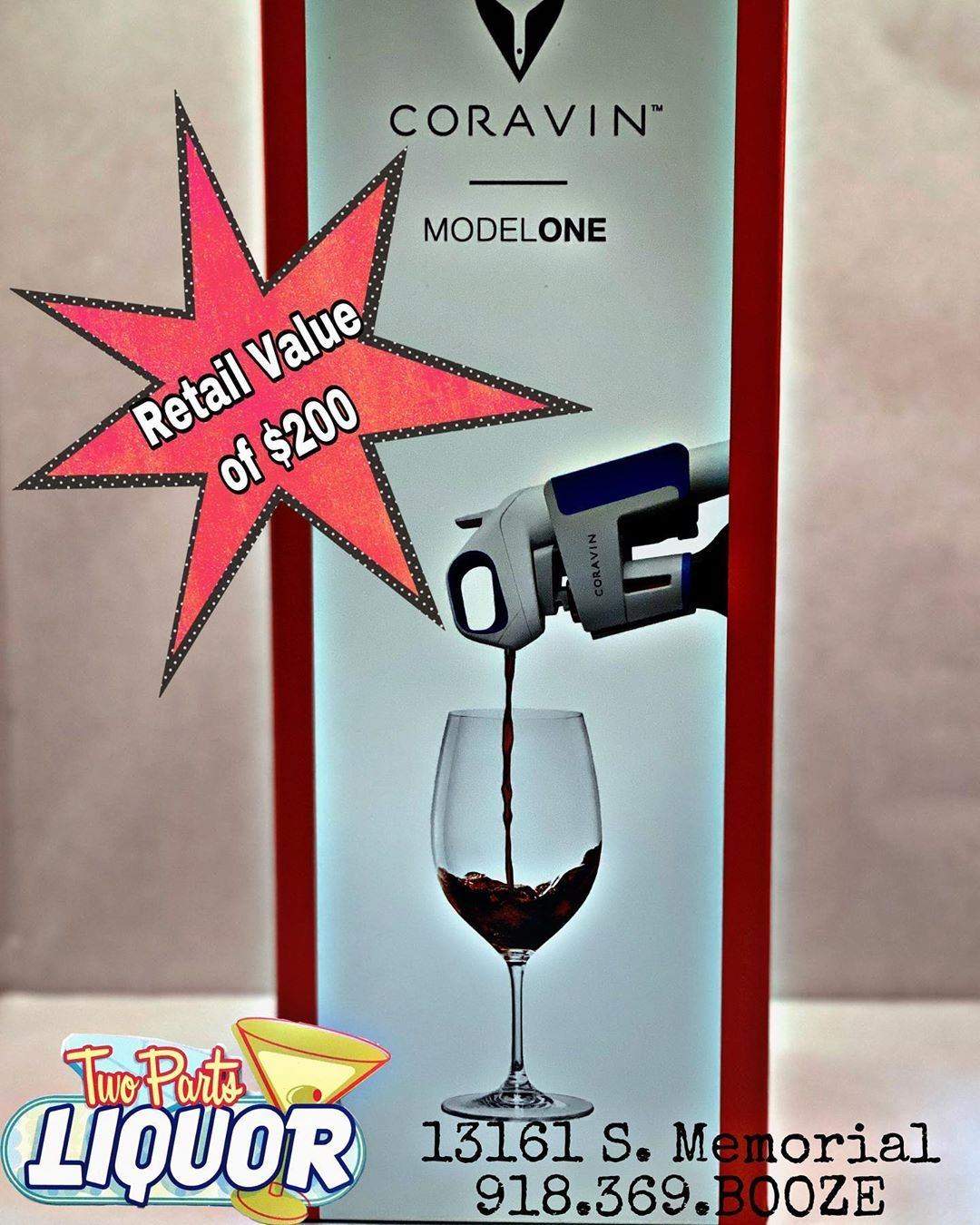 Kitchen Stuff Coravin Booze Wine Opener