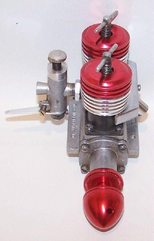 "Aurora Taplin Twin ""Mark III"" 8cc Diesel Control Line Model Airplane Engine   eBay"