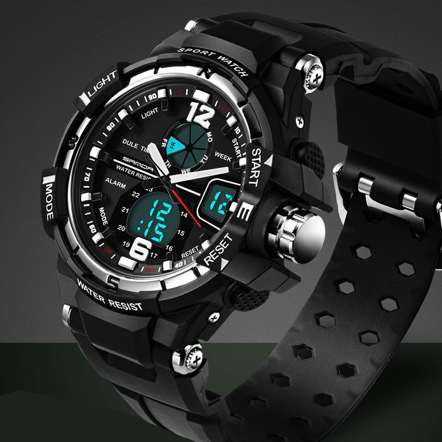 Watch Tungsten Picture More Detailed Picture About 2016 New Brand Sanda Fashion Watch Men G Style Waterproof Military Watches Fashion Watches Watches For Men