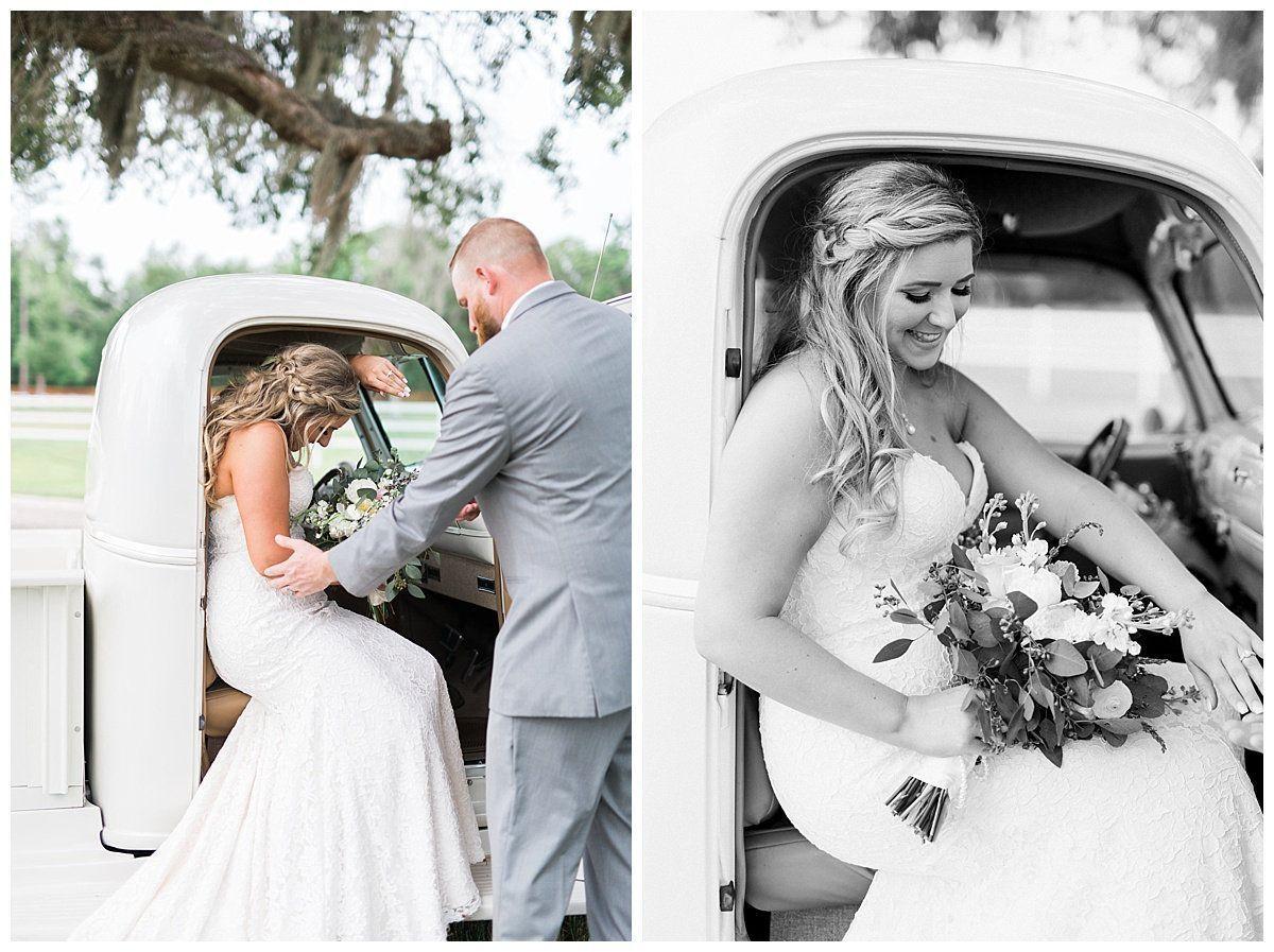 Jacksonville beach weddings  Romantic Summer Wedding at Plantation Oaks Farms in Jacksonville FL