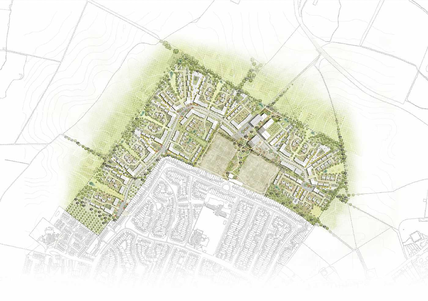 Re Imagining The Garden City A Landscape Driven Masterplan For The Development Of The Letchworth Garde Garden City Movement Letchworth Garden City Garden City