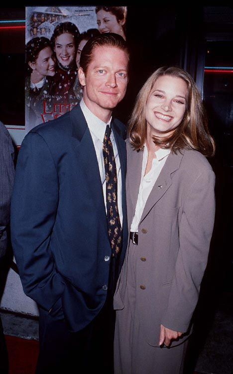 Bridget Fonda  with her ex-lover Eric Stoltz