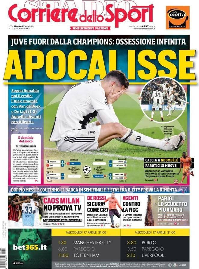 Corriere dello Sport (17 de abril de 2019) Revistas