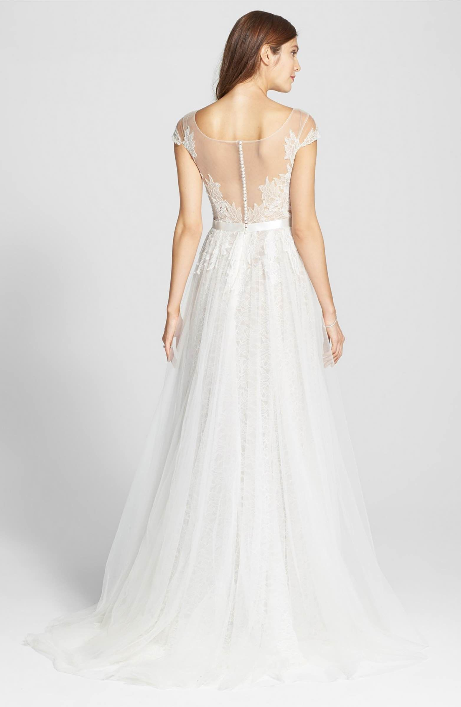 Main image watters farah tulle lace charmeuse gown in stores main image watters farah tulle lace charmeuse gown in stores only ombrellifo Image collections