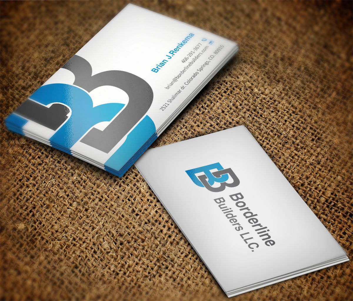 Business Card Design Ideas For Contractors Gallery - Card Design ...