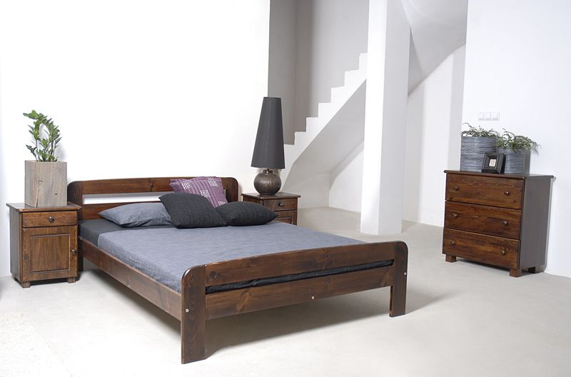 """Super King Size Wooden Bed Frame """"Two"""" UK Size"""