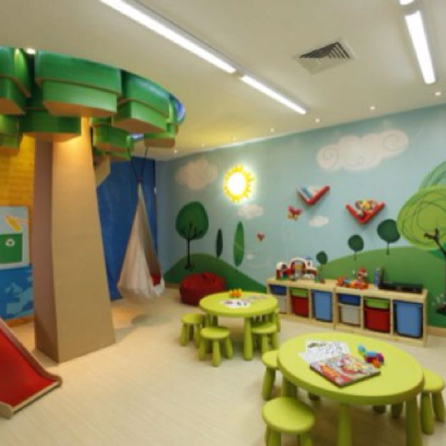 Home Daycare Design Ideas: Children's Playroom