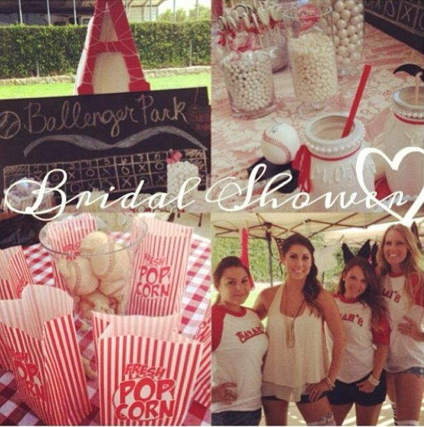 Baseball Themed Bridal Shower Dream Wedding Bridal Shower