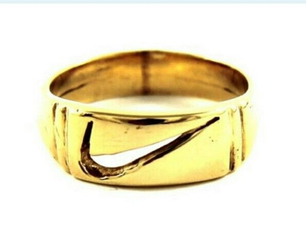 9K Solid Gold Nike Ring $325 on ETSY Shop ...