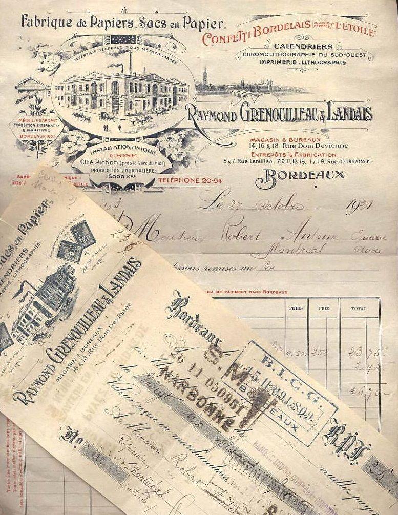 Si las facturas actuales tuvieran este tipo de diseños, costaría más negarse a pagarlas, ¿no creéis?. Era el año 1921. #adshistory #lahistoriadelapublicidad