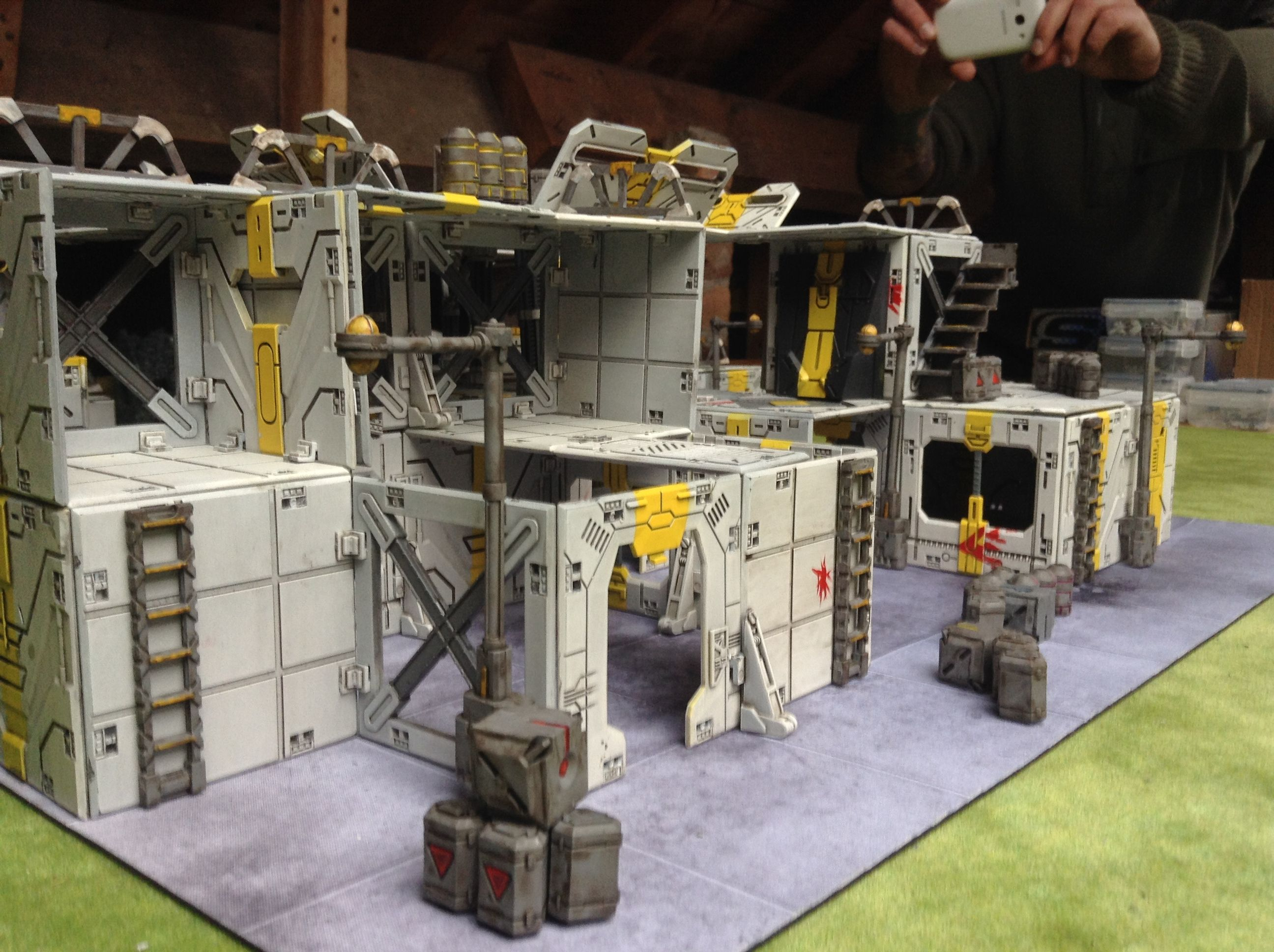 Pin by Sean P on Battlezone Terrain | Scenery, Custom action figures