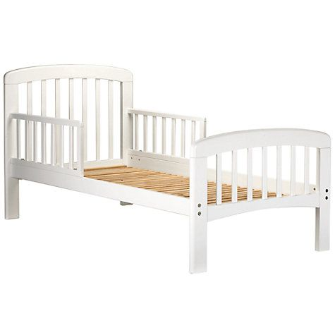 size 40 c42ad 50c2b John Lewis & Partners Anna Junior and Toddler Bed, White ...