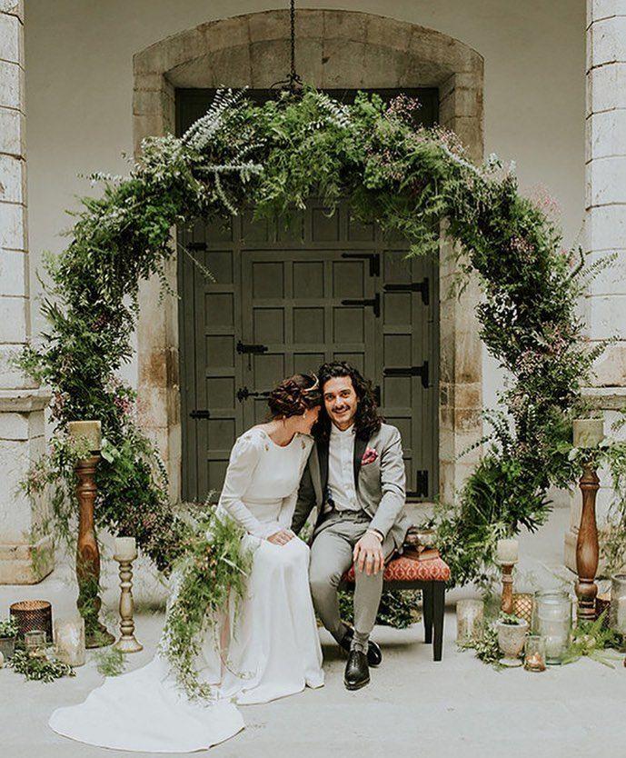 Wedding Arbor Circle: Diy Wedding Wreath, Wedding Arch