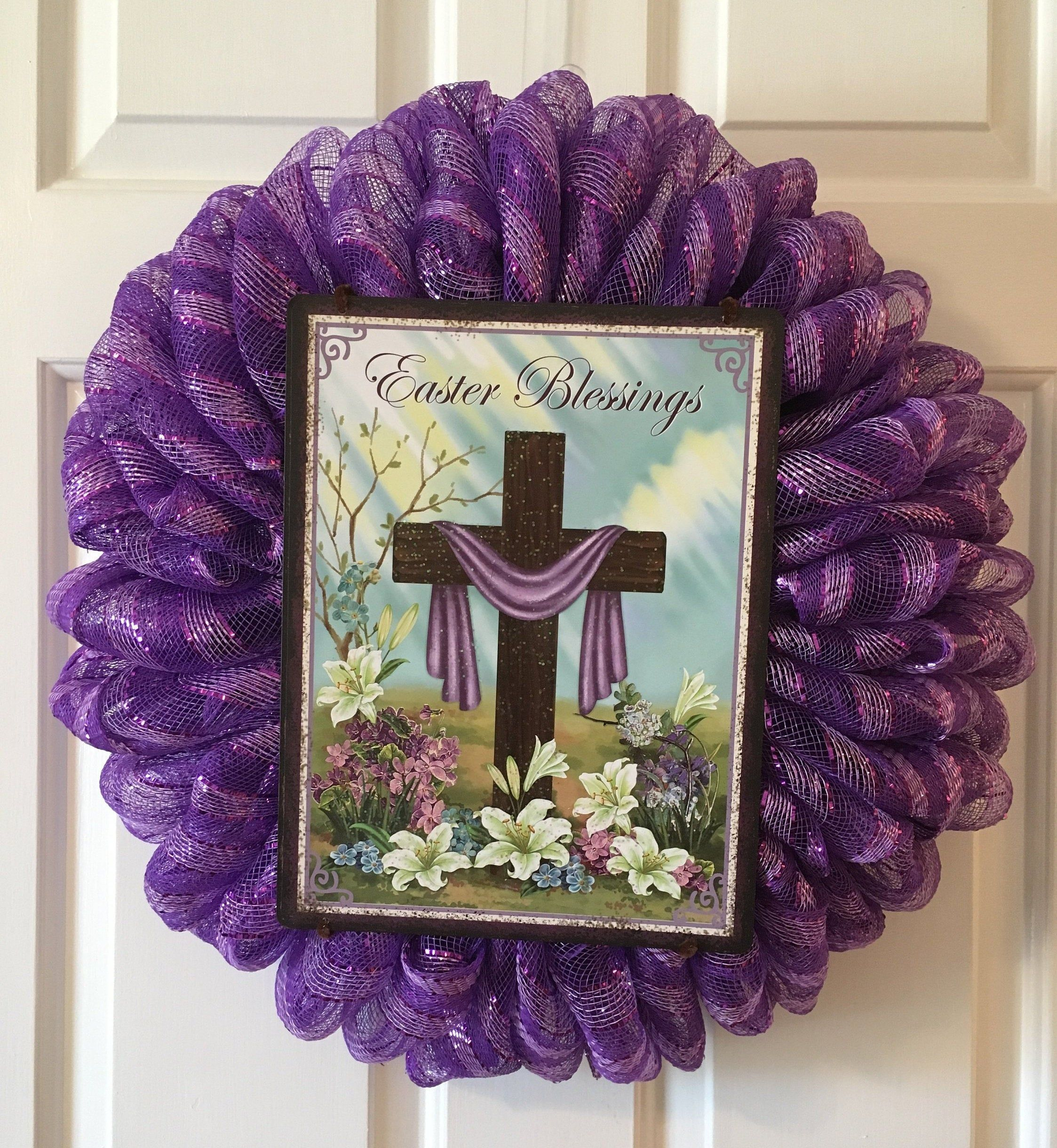 Photo of Easter Blessings Wreath