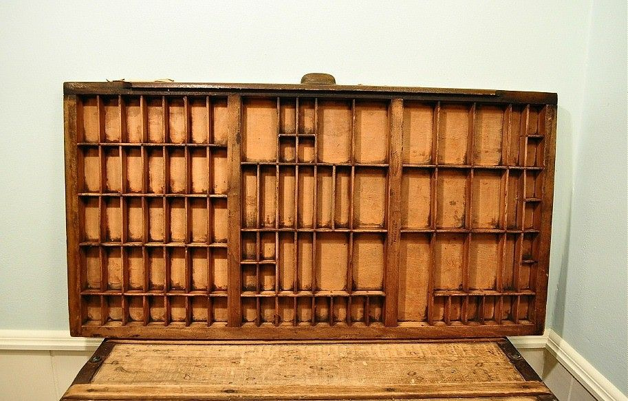 Image Detail For Vintage Industrial Printers Tray Printers Drawer By Joiedecleve