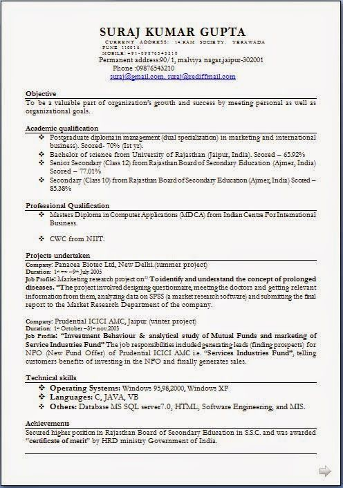 how to make an impressive resume Sample Template Example of - market research resume objective